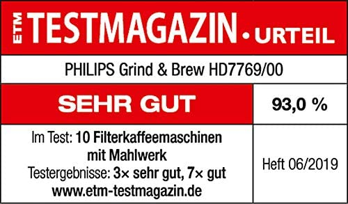 Philips Grind and Brew