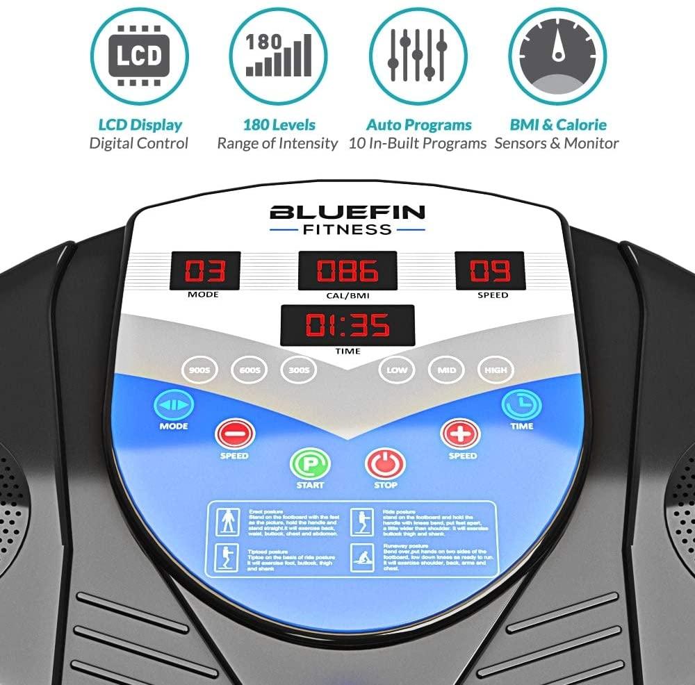 Bluefin Fitness Vibration plate Pro Model
