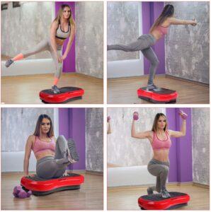 MVPower Fitness Ultra Flat Vibration