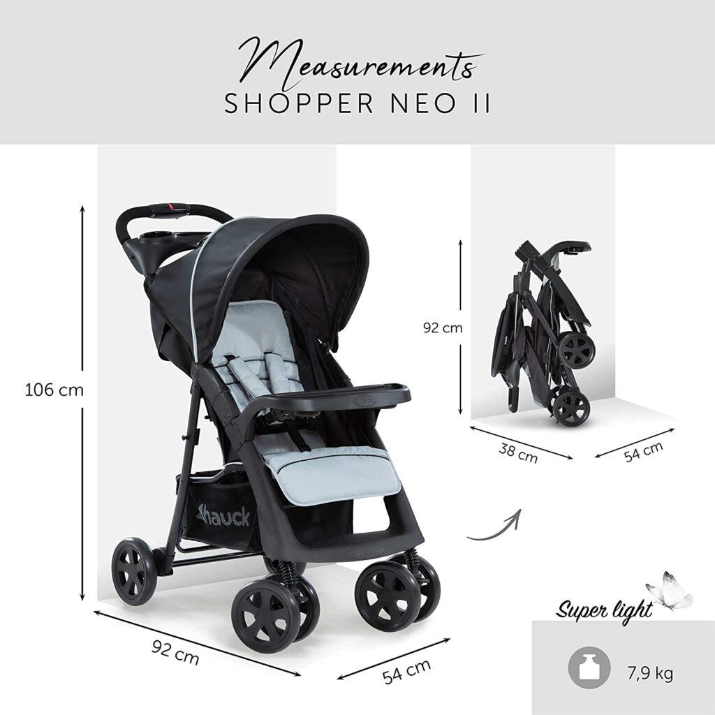 Kinderwagen Hauck Buggy Shopper Neo II